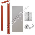 Knock Down Frame & Hollow Metal Door Cylindrical Unit