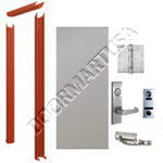 Knock Down Frame & Hollow Metal Door Apartment Unit