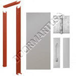 Knock Down Frame & Hollow Metal Door Push/Pull Unit