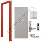 Welded Frame & Hollow Metal Door Apartment Unit