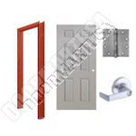 6-Panel Hollow Metal Door & Hardware Packages