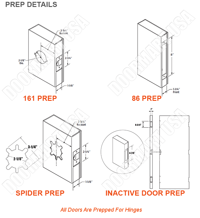 knock down pair frame with hollow metal doors