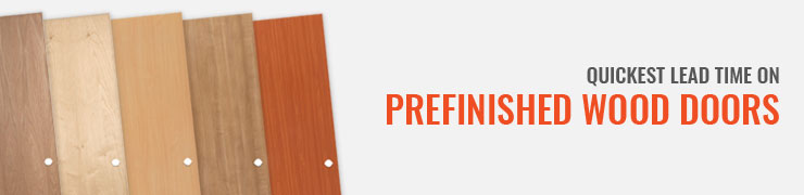 Prefinished Wood Doors
